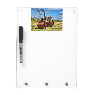 Aveling Steam Road Roller - Front Dry-Erase Board