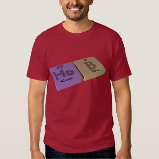 Avellanador como Ho holmio y boro de B Camisas