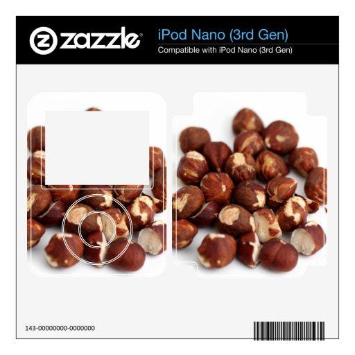 Avellanas iPod Nano 3G Skins