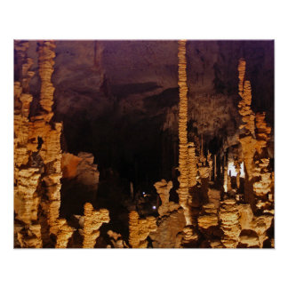Aven d'Orgnac Stalactite Cave Poster