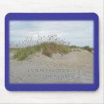 Avena del mar en la duna de arena Outer Banks NC Alfombrilla De Ratón