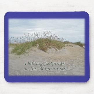 Avena del mar en la duna de arena Outer Banks NC Tapete De Ratones