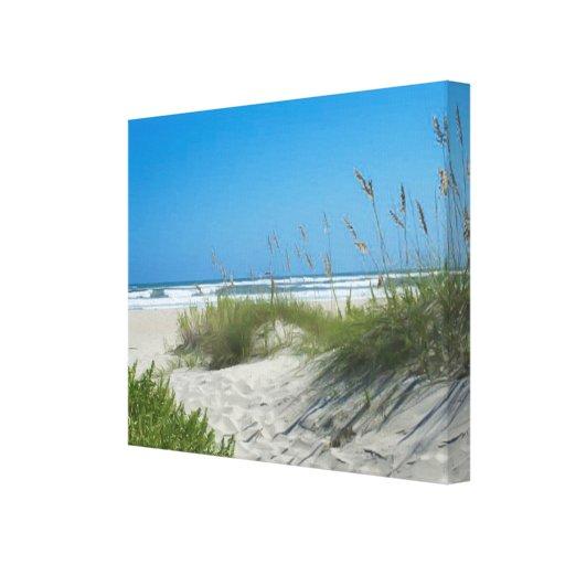 Avena del mar en Ocracoke Impresiones En Lienzo Estiradas