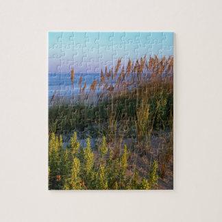 Avena y playa del mar puzzle