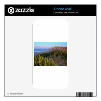 Avena y playa del mar skin para el iPhone 4S