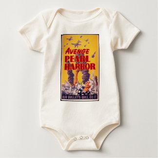 Avenge Pearl Harbor Baby Bodysuit
