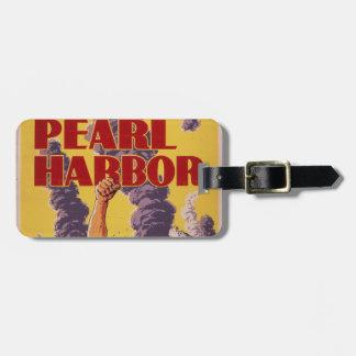 Avenge Pearl Harbor Bag Tag