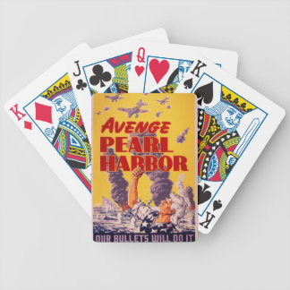 Avenge Pearl Harbor Bicycle Playing Cards