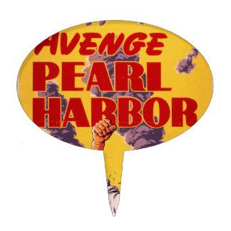Avenge Pearl Harbor Cake Topper