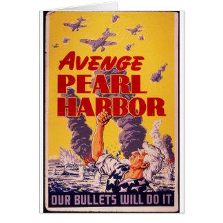 Avenge Pearl Harbor Greeting Card