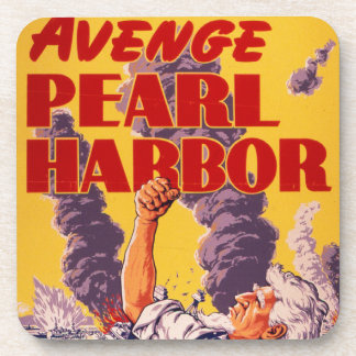 Avenge Pearl Harbor Coasters