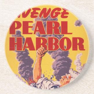 Avenge Pearl Harbor Drink Coaster