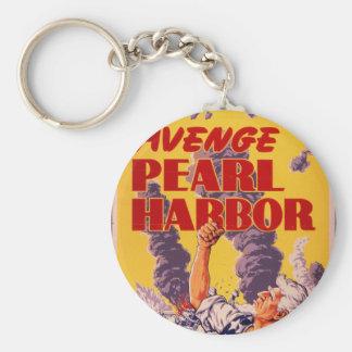 Avenge Pearl Harbor Keychain
