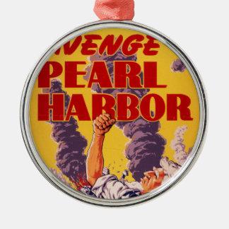 Avenge Pearl Harbor Metal Ornament