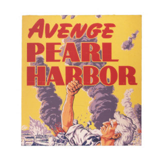 Avenge Pearl Harbor Notepad