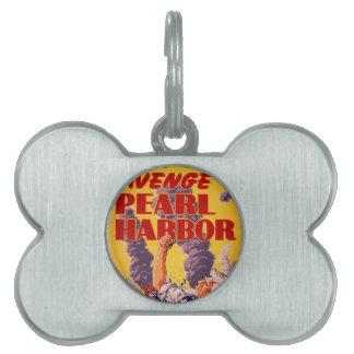 Avenge Pearl Harbor Pet Tag