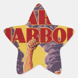 Avenge Pearl Harbor Star Sticker