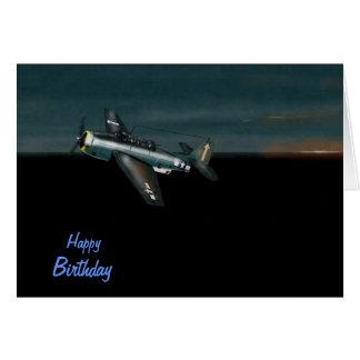 Avenger Birthday Card  Dawn Patrol