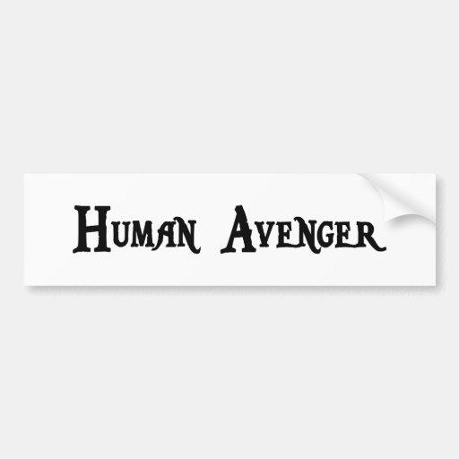 Avenger Bumper Sticker