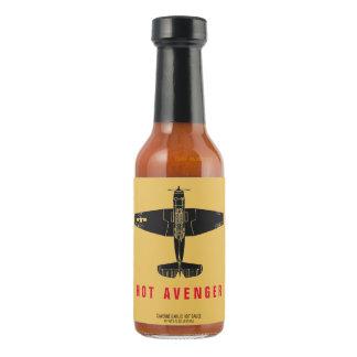 Avenger Cayenne Garlic Hot Sauce