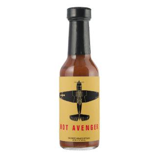 Avenger Fire Roasted Habanero Hot Pepper Sauce