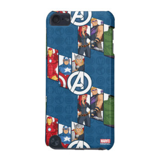 Avengers Assemble Characters Kid Pattern iPod Touch 5G Cover