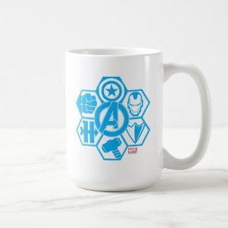 Avengers Assemble Icon Badge Coffee Mug