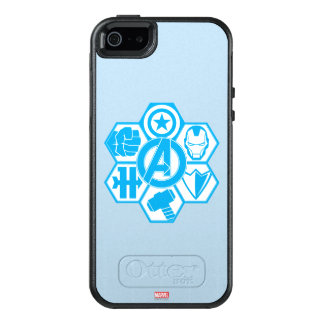 Avengers Assemble Icon Badge OtterBox iPhone 5/5s/SE Case
