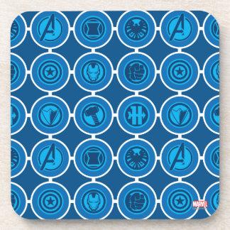 Avengers Assemble Icon Pattern Coaster