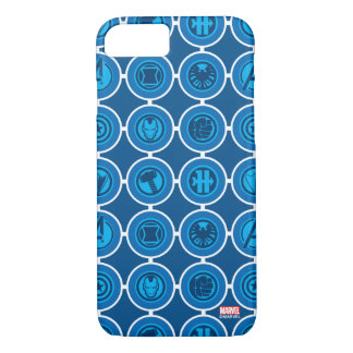 Avengers Assemble Icon Pattern iPhone 7 Case