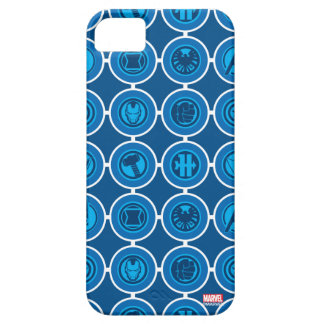 Avengers Assemble Icon Pattern iPhone SE/5/5s Case