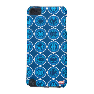 Avengers Assemble Icon Pattern iPod Touch (5th Generation) Case