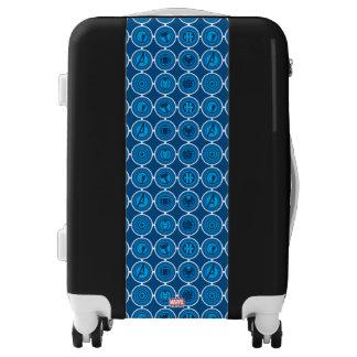 Avengers Assemble Icon Pattern Luggage