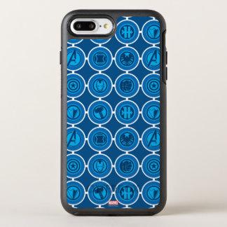 Avengers Assemble Icon Pattern OtterBox Symmetry iPhone 7 Plus Case