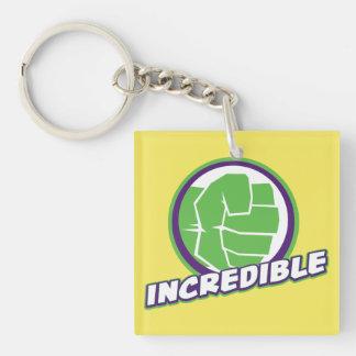 Avengers Assemble Incredible Hulk Logo Keychain