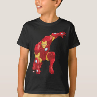 Avengers Assemble Iron Man Character Art T-Shirt