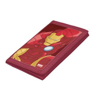 Avengers Assemble Iron Man Character Art Trifold Wallets