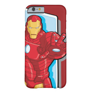 Avengers Assemble Iron Man Graphic Barely There iPhone 6 Case