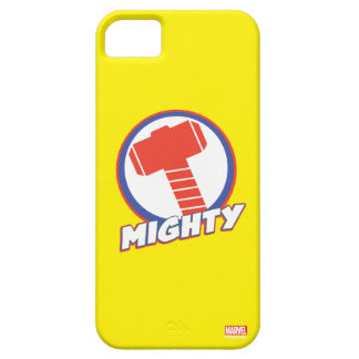 Avengers Assemble Mighty Thor Logo iPhone SE/5/5s Case