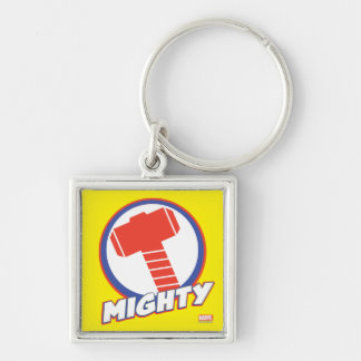 Avengers Assemble Mighty Thor Logo Keychain
