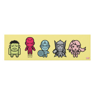 Avengers Assemble - Stylized Line Art