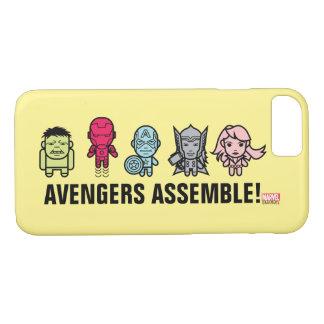 Avengers Assemble - Stylized Line Art iPhone 7 Case