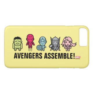 Avengers Assemble - Stylized Line Art iPhone 7 Plus Case