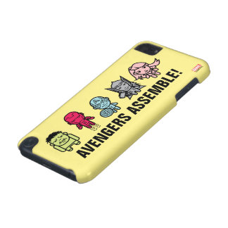Avengers Assemble - Stylized Line Art iPod Touch 5G Case