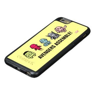 Avengers Assemble - Stylized Line Art OtterBox iPhone 6/6s Plus Case