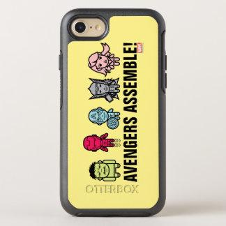 Avengers Assemble - Stylized Line Art OtterBox Symmetry iPhone 7 Case