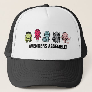 Avengers Assemble - Stylized Line Art Trucker Hat