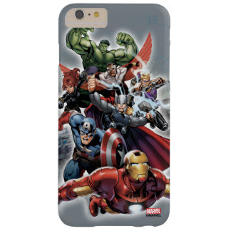 Avengers Attack Graphic Barely There iPhone 6 Plus Case