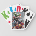 Avengers Attack Graphic Bicycle Poker Cards