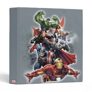 Avengers Attack Graphic Binder